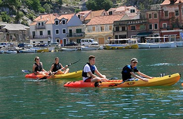 family adventure vacation in Croatia