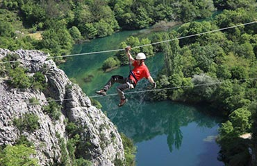 Zipwire Active Holidays Croatia