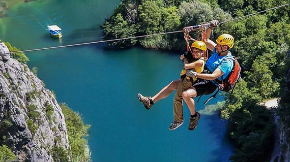 zipline active holidays croatia